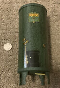 Vintage Tin Lithograph Rex Water Heater Advertising Bank New In Box