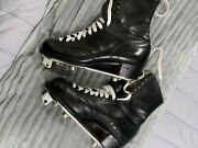Womenandrsquos Vintage Betty Lytle Dyed Black Hyde Boot Size 8 1/2