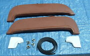 1955 Chevy Fender Skirts W/ Scuff Pads Seals And Clamps New Reproduction 55 Chev