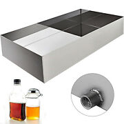 Maple Syrup Boiling Pan 24x48x7 304 Stainless Steel Sap Evaporator Tig Welded