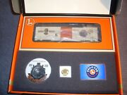 Lionel Gold Member Centennial Kit. Incl Lrrc Boxcar 6-19991. Mbr Pins And Catalog