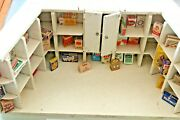 Toy Wood Old Grocery Miniature +50 Boxes Years 1930/50