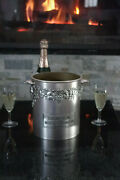 Rare French Vintage Plastic Champagne Wine Ice Bucket Cooler Moet And Chandon