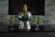 French Champagne Wine Cooler Ice Bucket Pewter Jean Goardere Meilleur Ouvrier