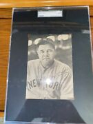 1948 American Association Babe Ruth Sgc A Authentic, Oversized Card, Yankees