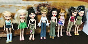 Lot Of 12 Bratz 2001-2003 Girls Guys Doll Collectible Figures
