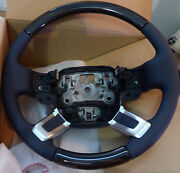 Range Rover L405 2013+ Lunar Leather And Macassar Wood Heated Steering Wheel New
