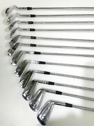 Complete Set Of Hogan Apex Ii Irons, 1-9, Equilizer, And Both Sure Out Wedges