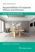 Responsibilities Of Corporate Officers And Directors Under Federal Securiti...