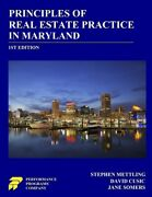 Principles Of Real Estate Practice In Maryland 1st Edition