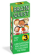 Brain Quest Grade 3, Revised 4th Edition 1,000 Questions And Answers To Ch...