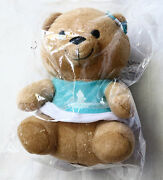 Singapore Airlines Signature Teddy Bear Blue Dress Toy Collectible First Class