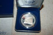 1987 Constitution Proof Silver One Dollar Commemorative Coin