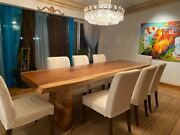 Live Edge Rosewood / Teak Dining And Coffee Tables Luxury Table Fallen Trees