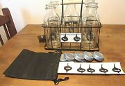 Alice Cooper 5 New Milk Bottles / New Carrying Rack And New Bottle Caps Cool