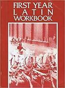 First Year Latin Workbook By Jenney Excellent Condition