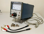 Leader Lmv-185a 2 Channel Ac Millivoltmeter Works Well Clean Plus Extras