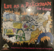 Life As A Black Man Board Game Vintage New Sealed Rare Banned Underground Games