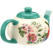 The Pioneer Woman Country Garden Teapot Holds 23 Ounces Or 2.875 Cups