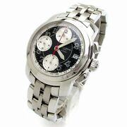 Baume And Mercier Capeland Chrono Menand039s Automatic Black Moa08317 Limited To 172