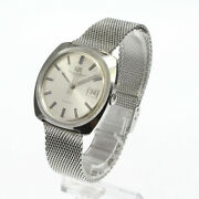 Schaffhausen Silver Dial 36.5mm Date Automatic Watch Used Antique Vintage