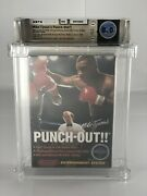 Original Mike Tysonand039s Punch-out 1987 Nintendo Nes Complete W/ Letter Wata 8.0