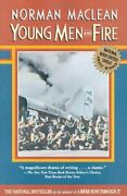 Young Men And Fire By Norman Maclean Brand New