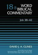 Job 38-42 Word Biblical Commentary 18b By David J. A. Clines - Hardcover