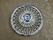 Ford Oem 1965 1966 Mustang 14 Chrome Wire Spinner Hubcap Hub Cap Wheel Cover