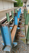 Engine Stand With 14 Work Stations Blue In Color