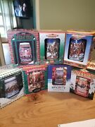 Budweiser Beer Steins Lot 1993-1999 Holiday Series New In Boxes