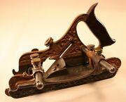 Stanley No. 42 Combination Plane Fillester Bed Two Fences Eight Cutters