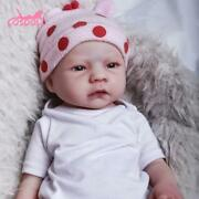 Cosdoll 56cm Reborn Doll Real 3.45kg Full Silicone Baby Dolls For Children Toys