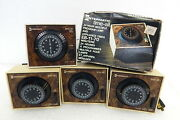 4pc Lot Vintage Intermatic Time All Electric Lamp Appliance Timer Mid Century