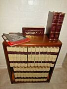 Full 1768 Encyclopedia Britannica Set With Dictionary And World Atlas 14th Edition