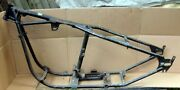 Harley Davidson 1960and039s Glide Frame W/weld On Hard Taildone Right