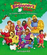 Beginner's Bible Curriculum Kit 30 Timeless Lessons For By Zondervan Brand New
