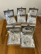 Waterford Crystal Snowflake Wishes Ornaments - Brand New - 5 Years - 2011-2015
