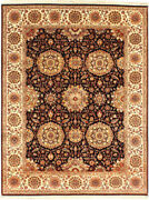 Hand Knotted 9x12 Ft Area Rugs Black Wool Floral Oriental Next Outdoor Carpets
