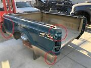 99-07 Ford F250 Super Duty Used 6'9 Short Bed Box Green/tan R1 Paint Damage