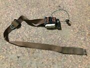 87-91 Ford F250 Used Single Cab Rh Right Passenger Brown Seat Belt Assembly