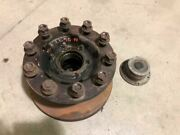 00 International 4000 7.6l Dt466 Used Lh Left Wheel Hub W Studs And Rotor