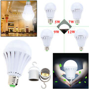 Led Light Bulbs Rechargeable With Battery Backup Emergency For Outage Daylight