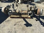 00 Freightliner Fl80 8.3l Isc 8000lb Rockwell Front Axle Suspension And Brakes