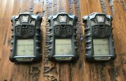 3 X Msa Altair 4x Multigas Monitor Detector Meter O2,h2s,co,lel Calibrated
