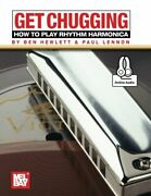Get Chugging How To Play Rhythm Harmonica By Ben Hewlett And Paul Lennon New