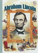 Abraham Lincoln History Maker Bios By Jane A. Schott Mint Condition