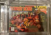 Donkey Kong Country Wata 6.5 A+ Made In Japan Factory Sealed Snes Super Nintendo