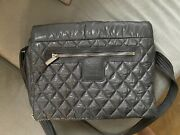 Coco Cocoon Messenger Bag Quilted Nylon Medium