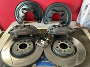 2010 2011 2012 2013 2014 Mustang Gt Track Pack Front Brembo Calipers Brakes